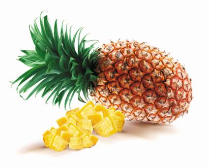 Ananas w kawałkach w lekkim syropie Food Garden